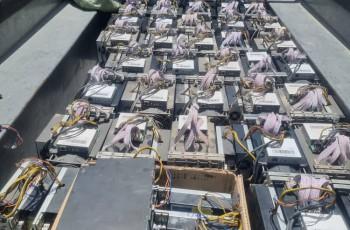 ۲۳۷ دستگاه ماینر در یک  مجموعه اپارتمانی  شهر کاشان در استان اصفهان کشف و جمع آوری شد
